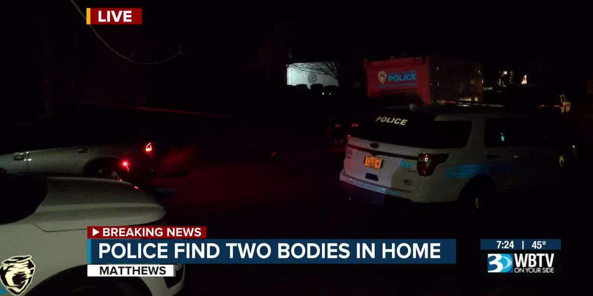 2 people found dead in Matthews home, death investigation underway