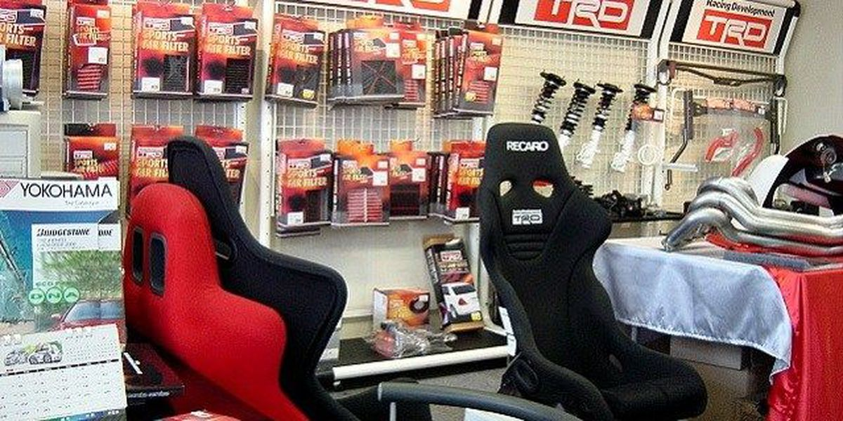 Use TRD parts to customize your Scion!