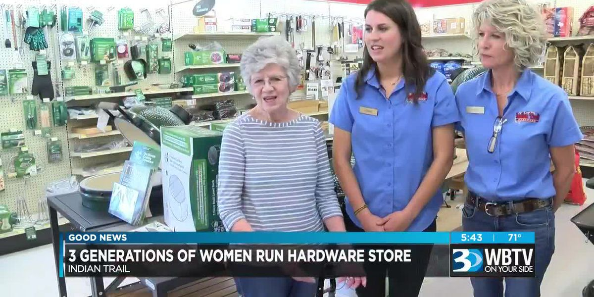 Local family-run hardware store thrives after decades of female leadership