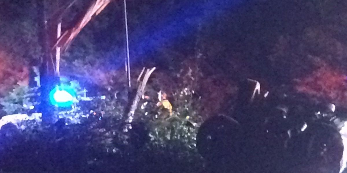 Driver strikes power pole in southeast Charlotte