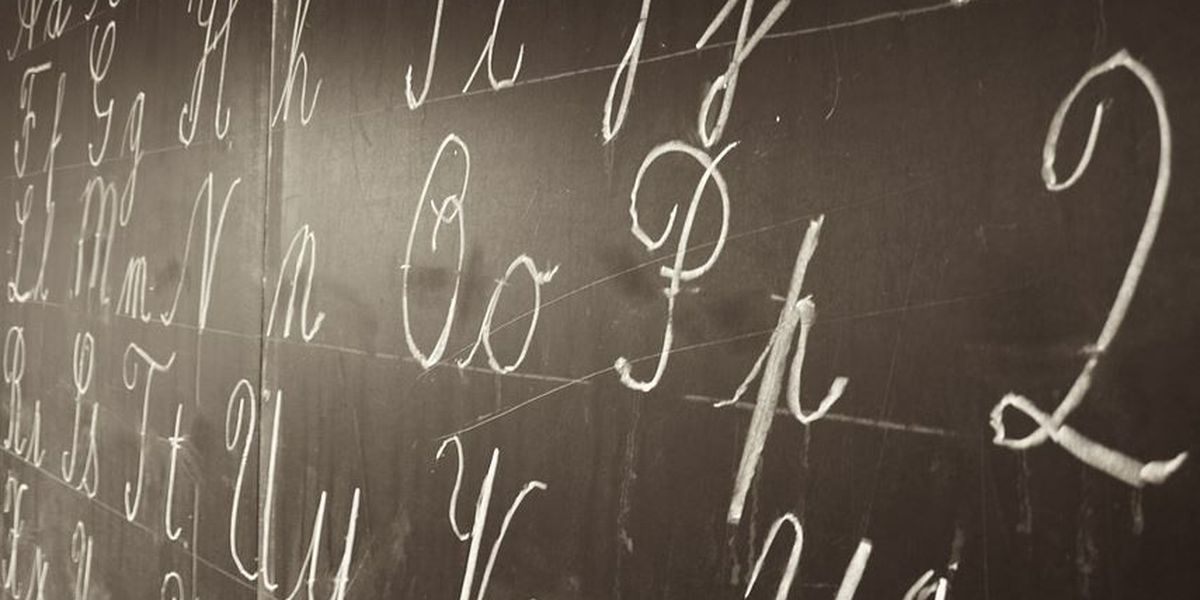 Students in Ohio schools may soon be required to learn cursive