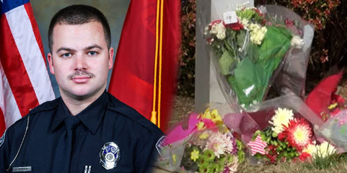 Community mourns loss of Mount Holly police officer killed in line of duty
