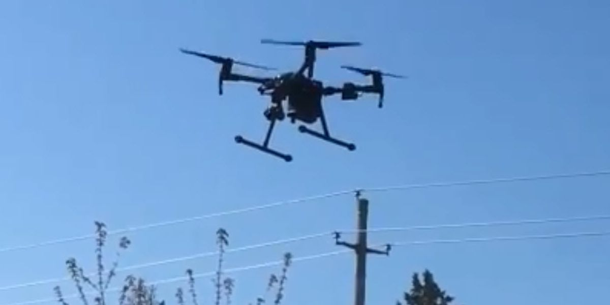 Drone helps catch man who ran from police in Granite Falls