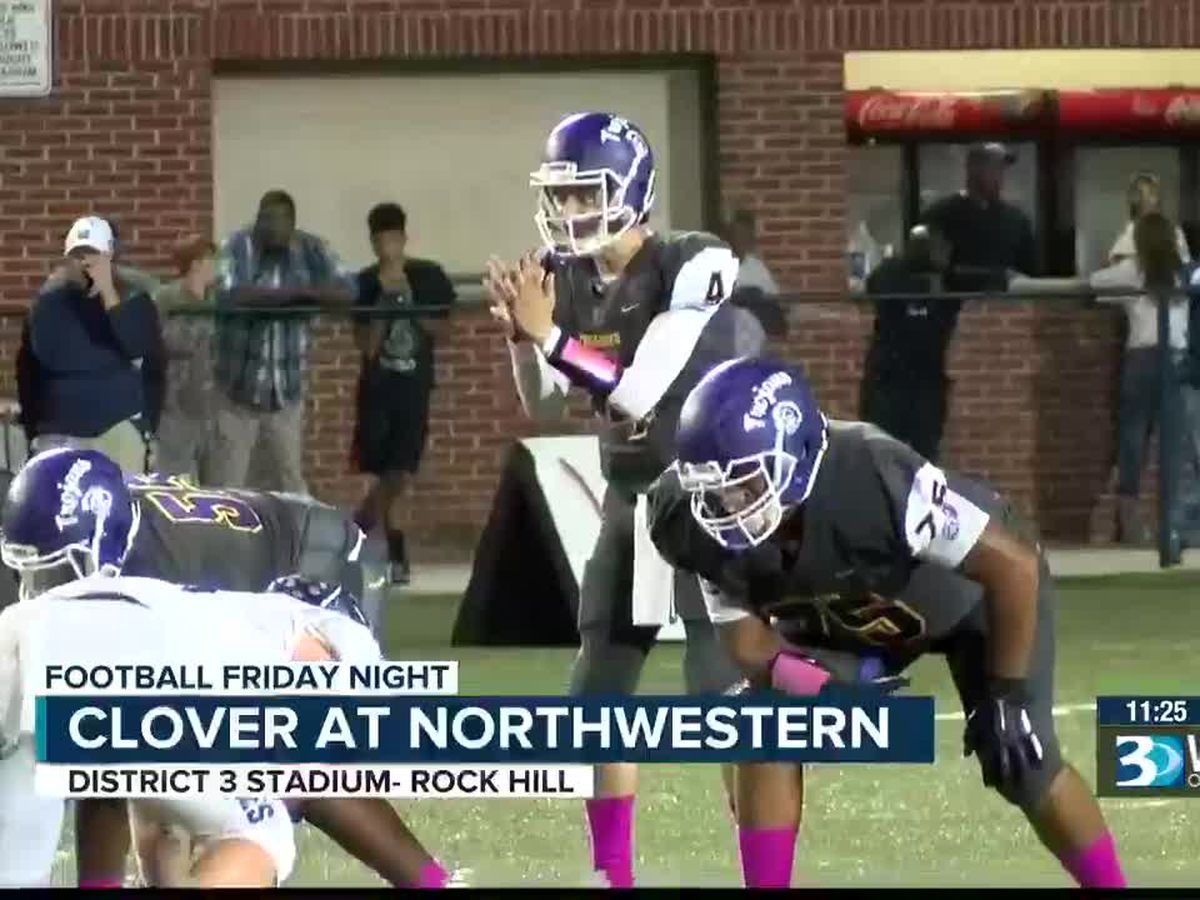 Football Friday Night- October 11th (Clover at Northwestern & Marvin Ridge at Parkwood)