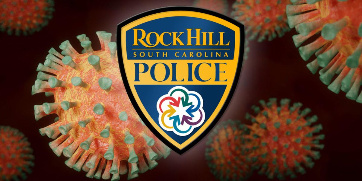 Two Rock Hill Police Department city employees test positive for COVID-19