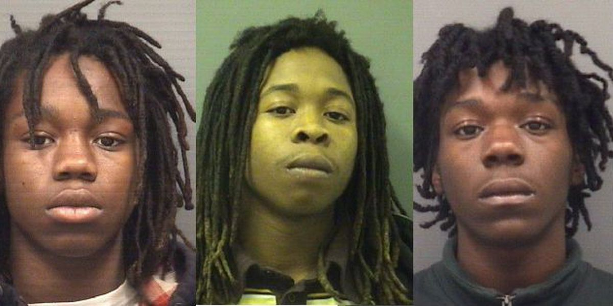 Four charged in violent home invasion in Salisbury