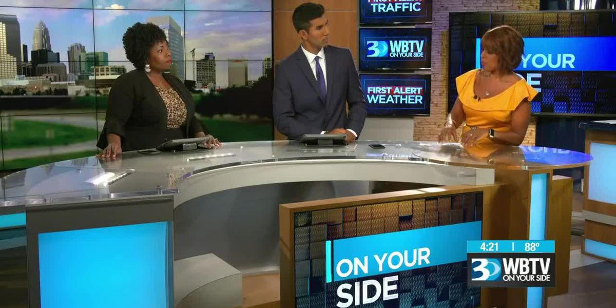CBS' Gayle King visits WBTV for 70th anniversary pt. 2