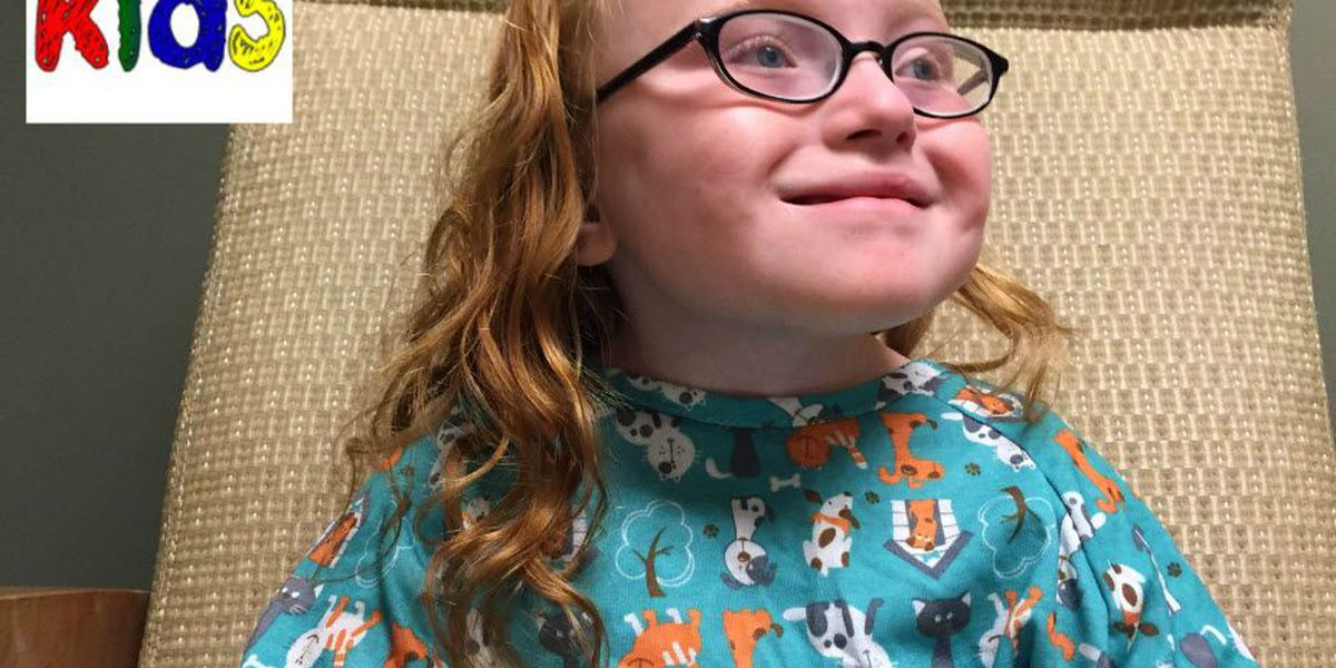 Molly's Kids: Lenoir girl with rare disease, beating odds (and smiling!)