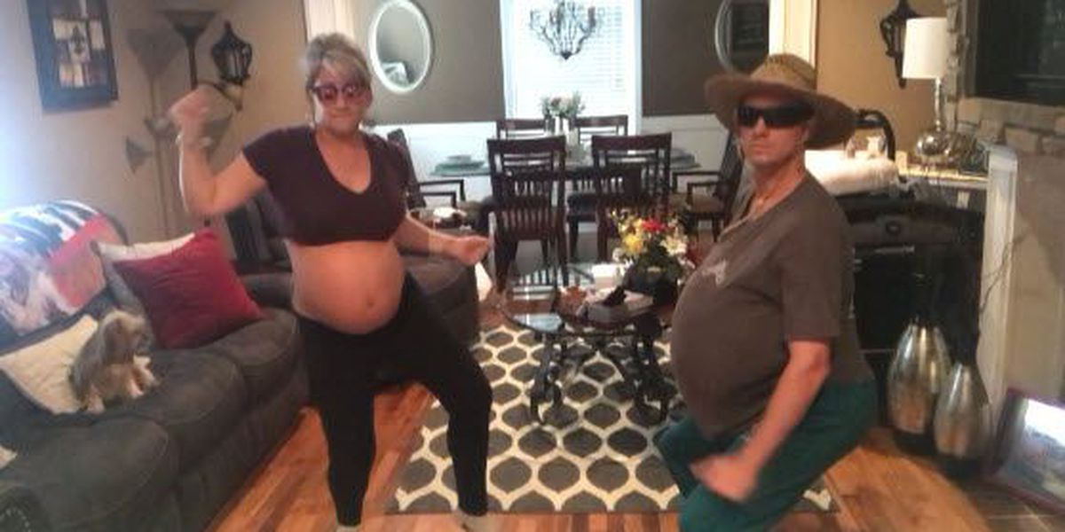 Pregnant woman, past due date, attempts to 'dance baby out'
