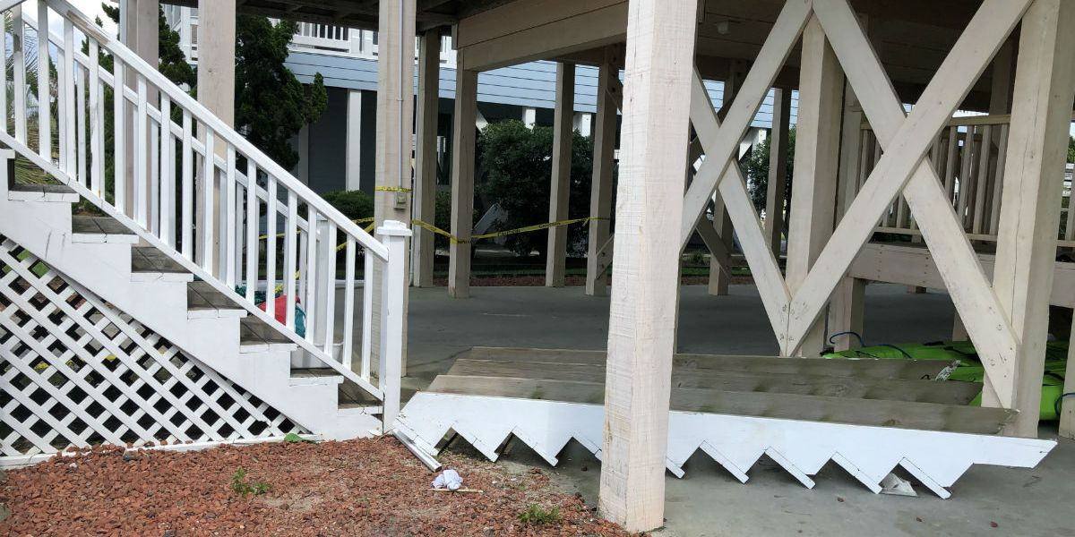 Five victims remain hospitalized in S.C. after Ocean Isle Beach stairway collapse