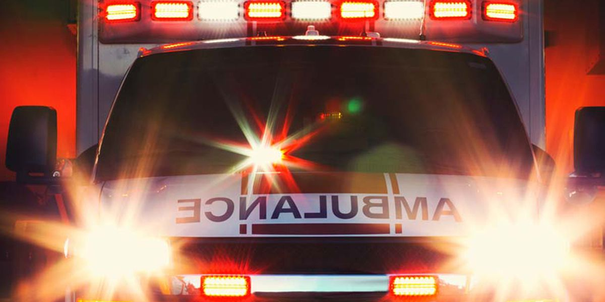 Caldwell County ambulance carrying patient involved in crash