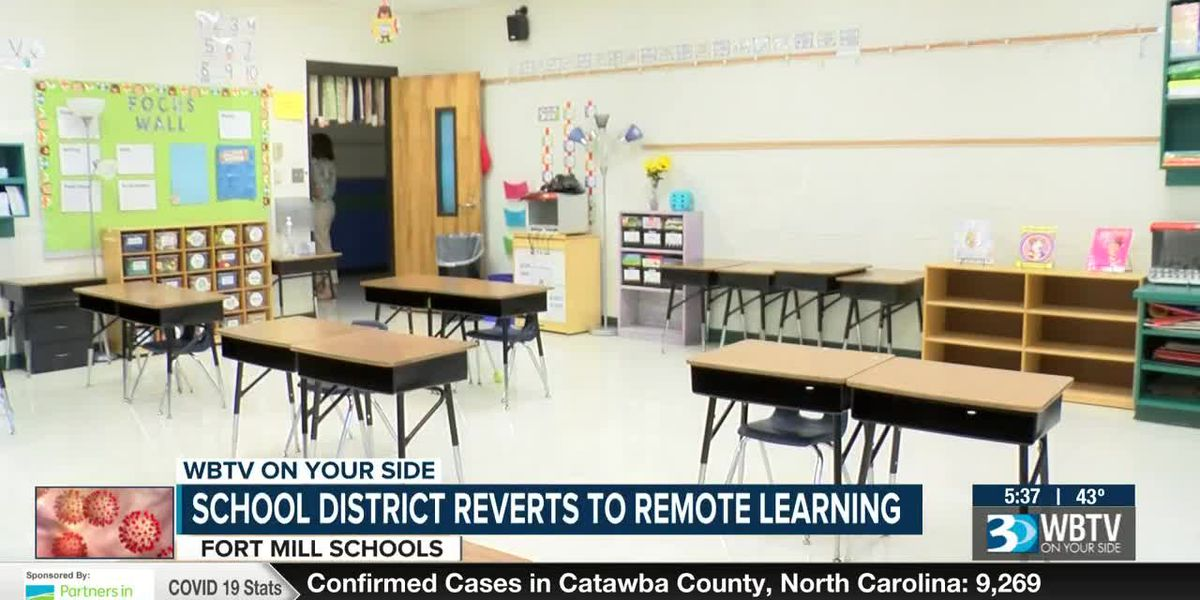 Fort Mill schools to move to full virtual learning for final two days before break