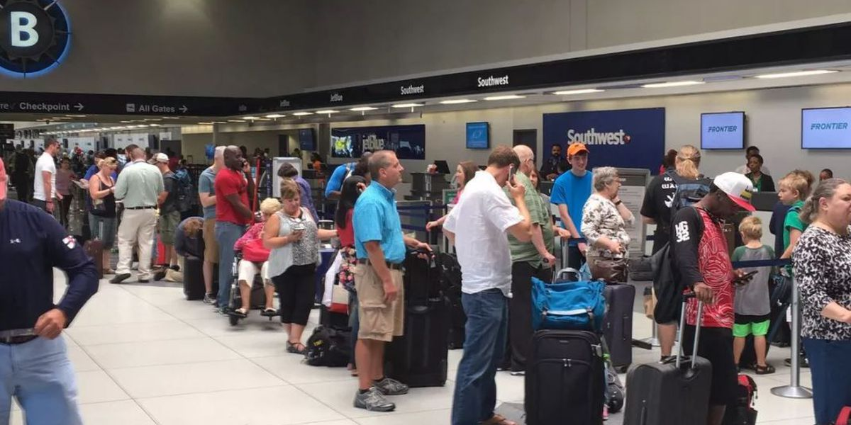 East Coast Snowstorm Strands Military Members At Charlotte Airport
