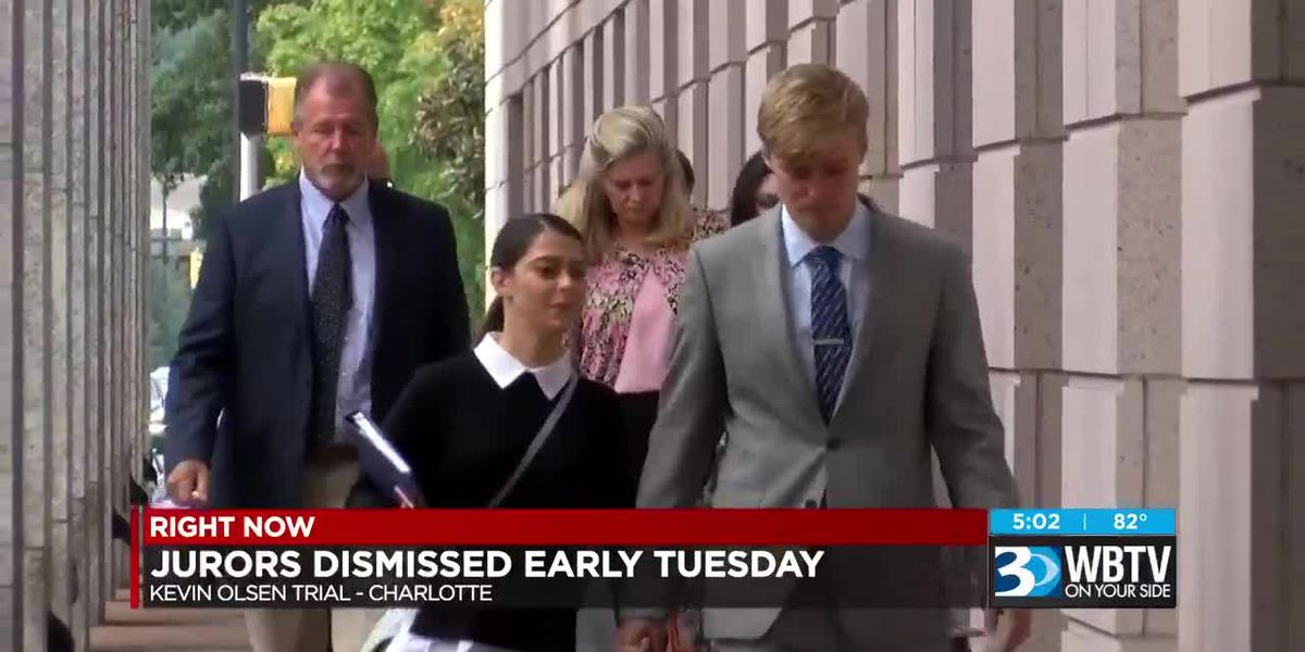 Olsen trial jurors dismissed early Tuesday