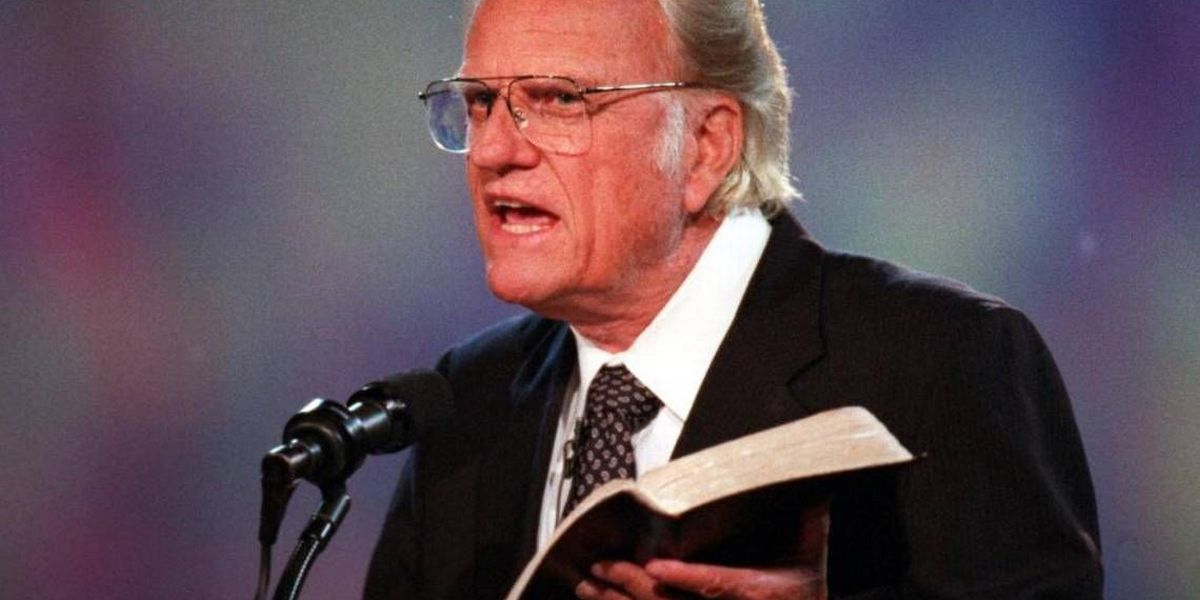 Now through the Easter season, you can hear Billy Graham preach again