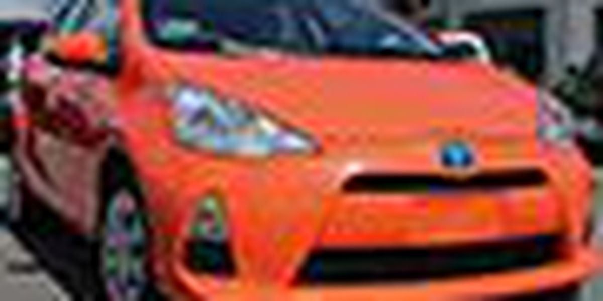 N Charlotte Toyota Prius c is cheapest car to drive!