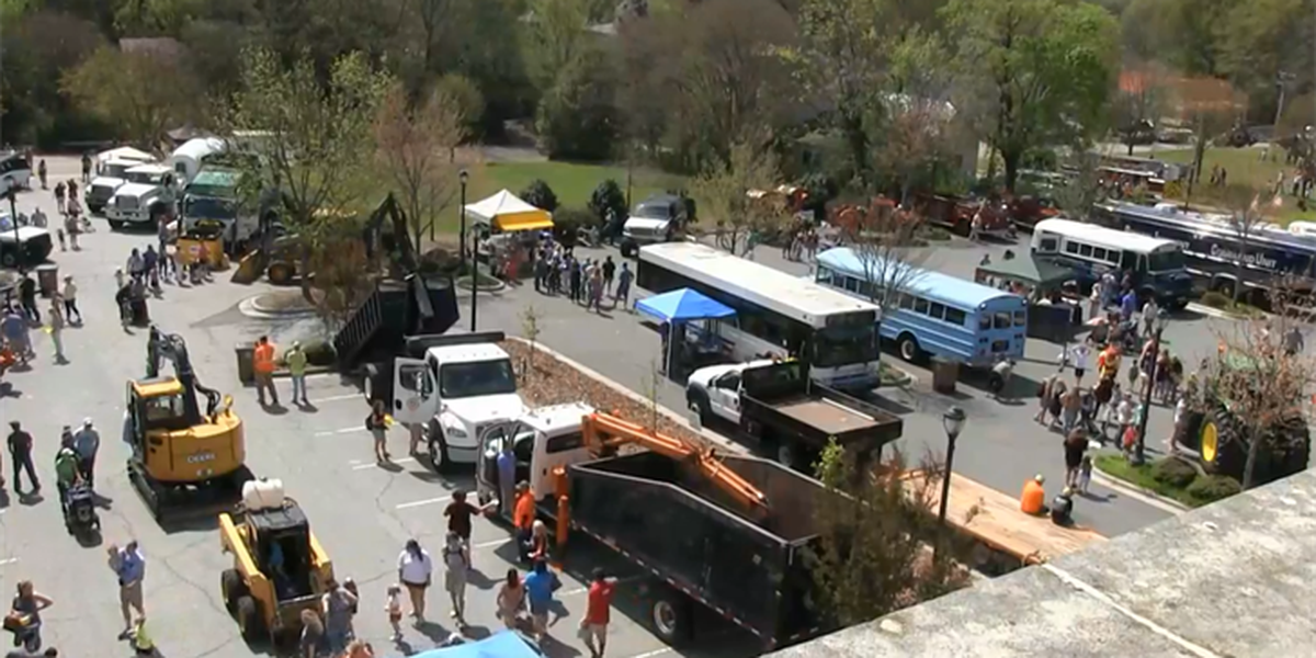 Touch-A-Truck draws a crowd