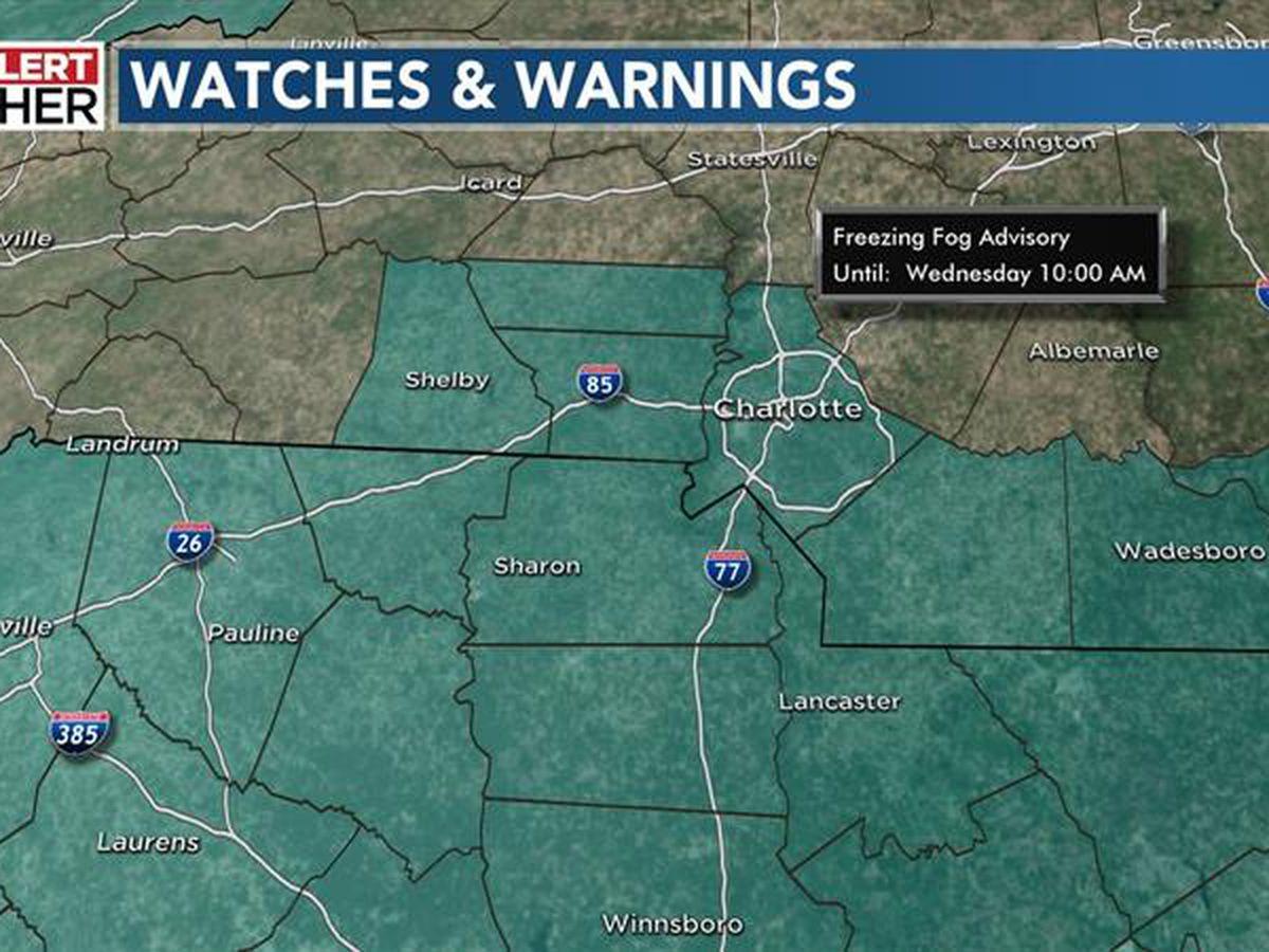 First Alert: Freezing Fog Advisory in effect through morning hours