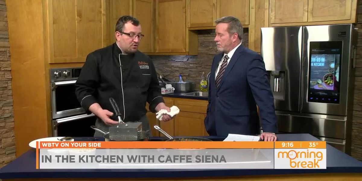 In the kitchen with Caffee Siena