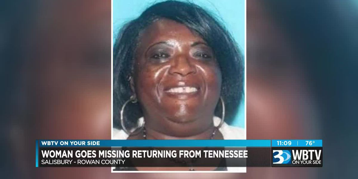 NC woman reported missing, possibly driving from Tenn. to Salisbury