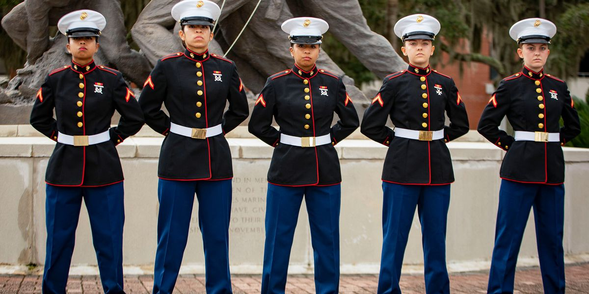 'Sisters-in-arms': Two sets of sisters graduate Marine Corps training at Parris Island in S.C.
