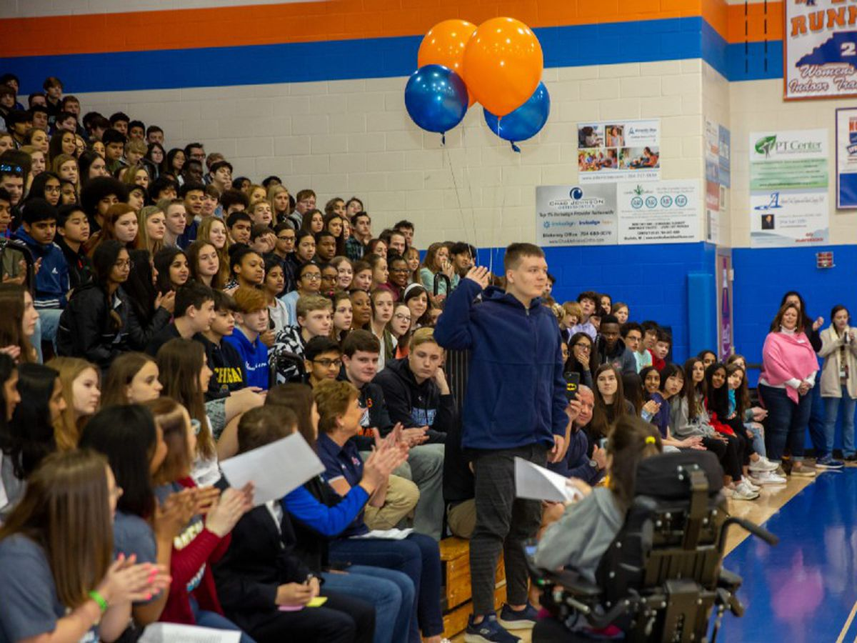 Dream On 3: The beginning of a dream at Marvin Ridge High School