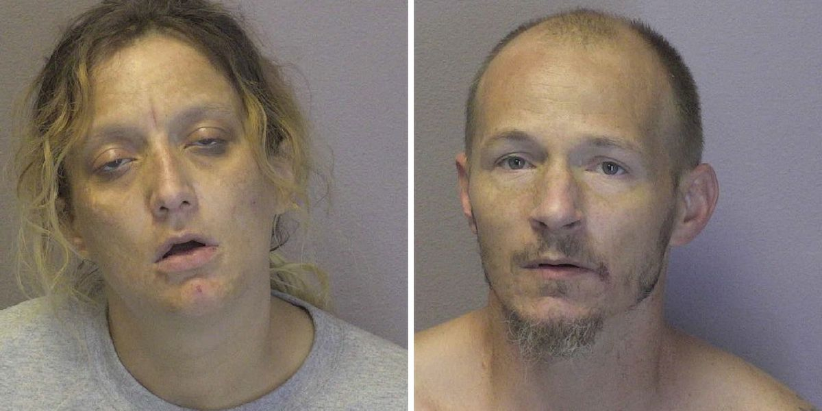 Armed robbery suspects lead police on foot chase through woods in Hickory