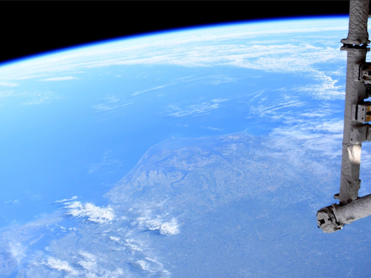 Astronaut tweets photo of NC from space