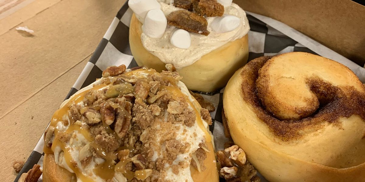 Fall Cinnamon Roll Flavors At Cinnaholic Of Concord