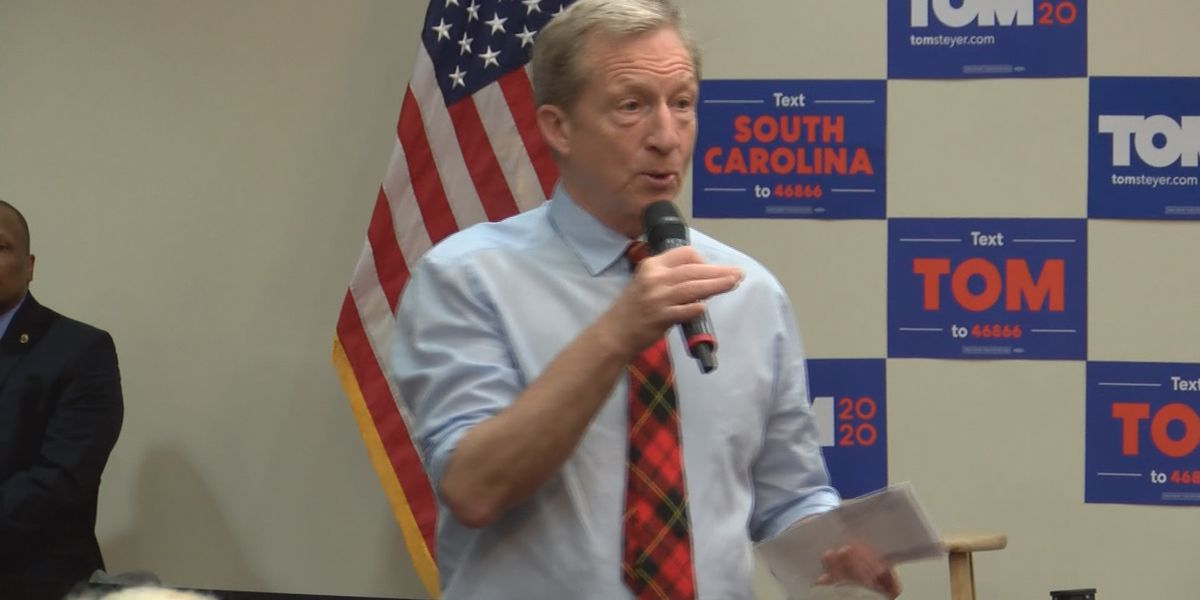 Tom Steyer drops out of presidential race