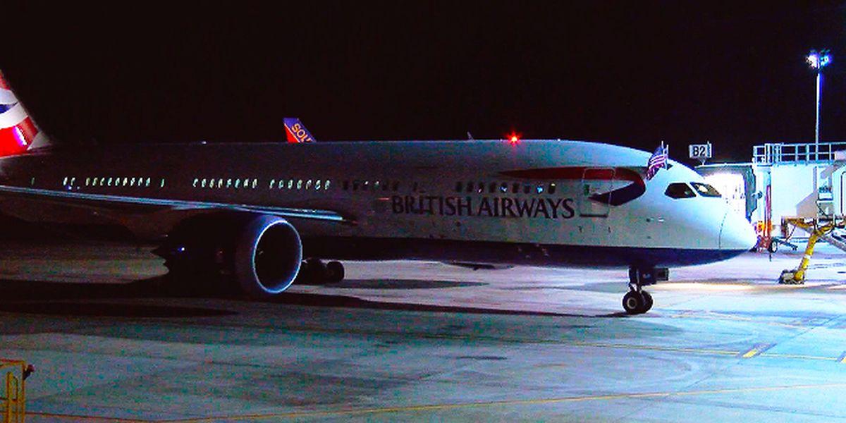 London calling: First SC transatlantic flight takes off from Charleston