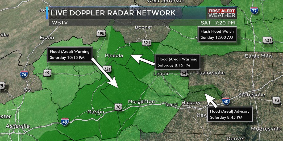 Flooding, more rain possible over weekend