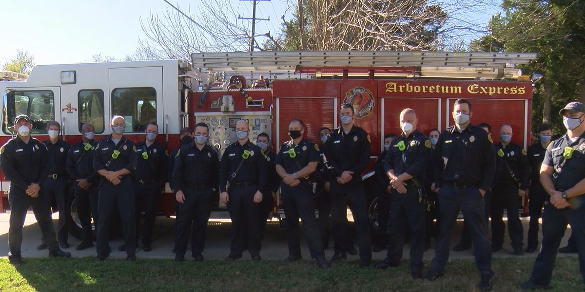 Charlotte firefighters describe efforts used to pull stranded cyclist from floodwaters