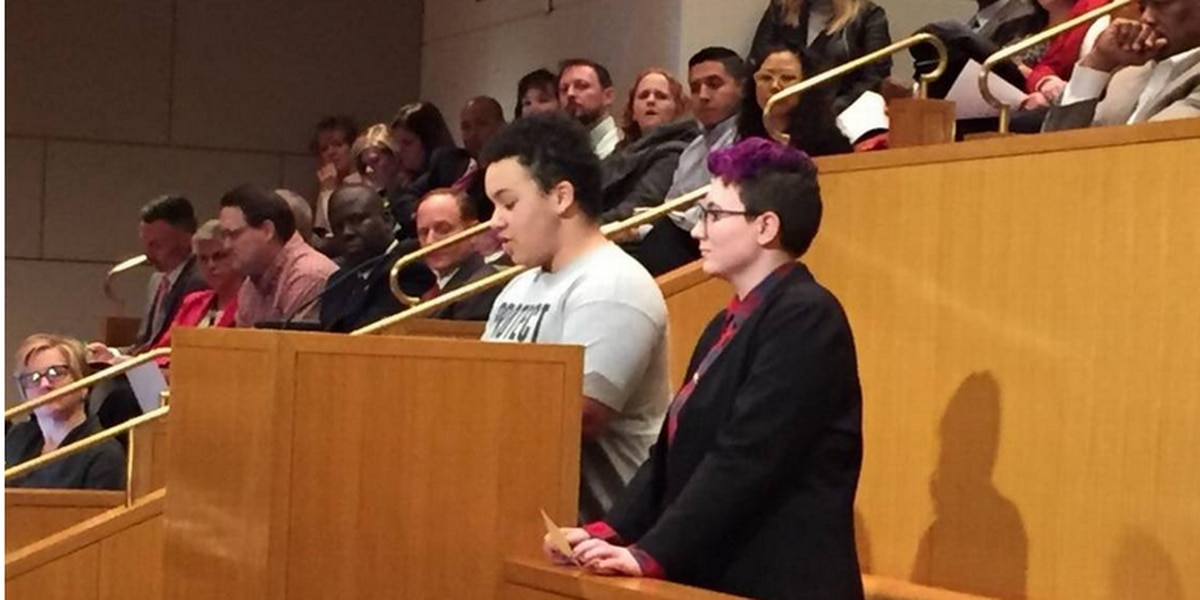 In place of protests, quiet support greets CMS policy to support LGBTQ students