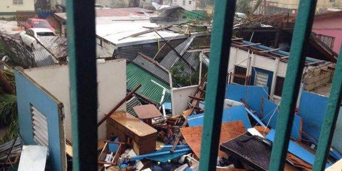 """Hurricane Irma: American woman trapped in St. Martin says """"We just need to go home"""""""