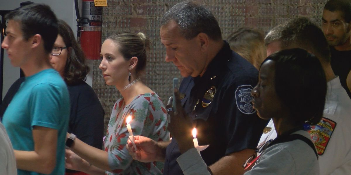 Dozens gather in Gastonia to pray for missing child's safe return home