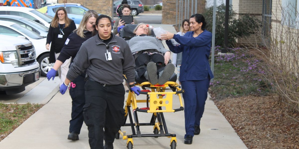 Rowan-Cabarrus Community College Health programs participate in first-time simulation event