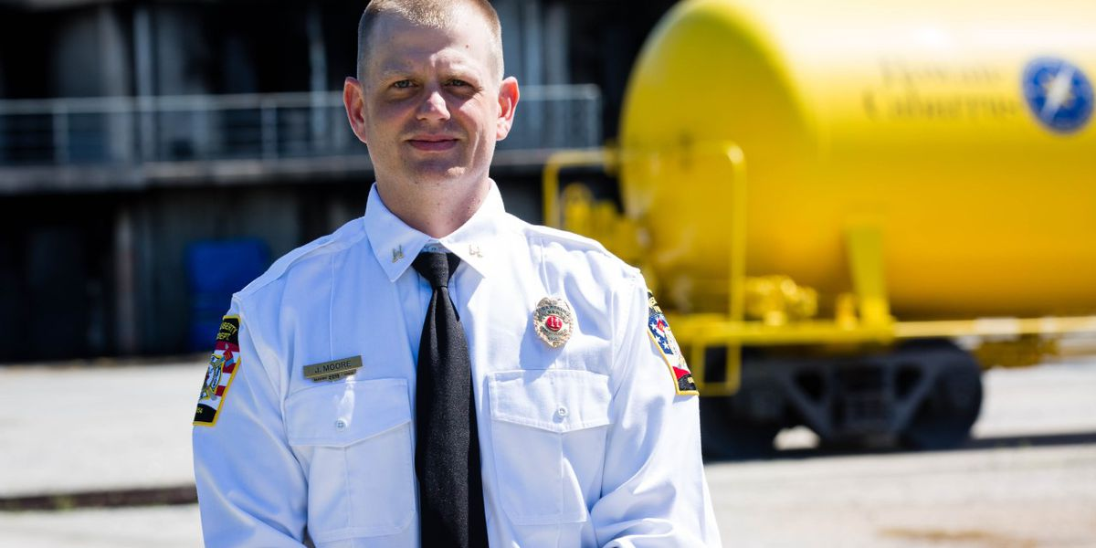 Jesse Moore discovers passion for firefighting through Rowan-Cabarrus Community College training
