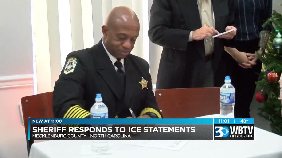 Mecklenburg County Sheriff S Office Issues Response To