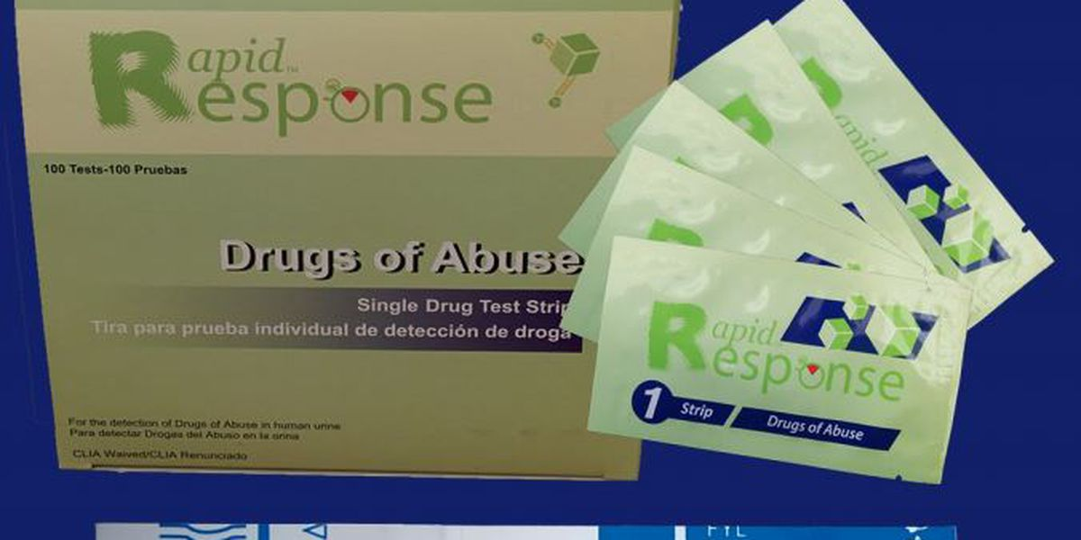 Strips that can test for fentanyl touted for overdose-reduction potential