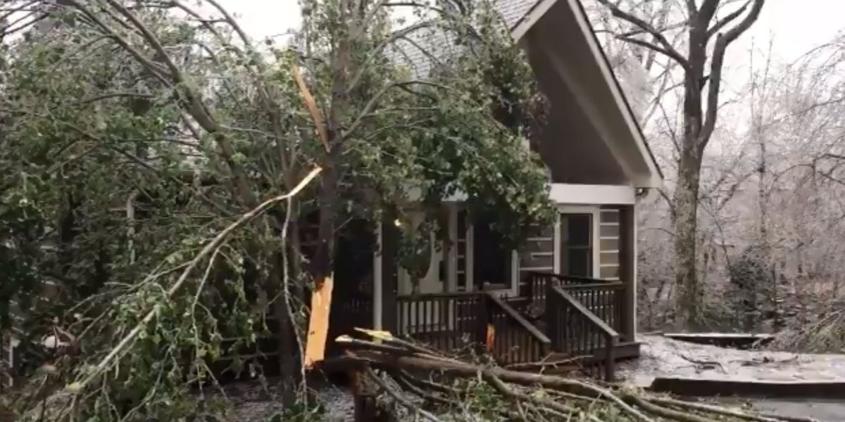 Ice storm hits NC mountains, power outages mounting