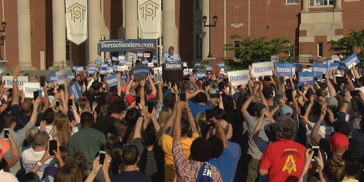At Bernie Sanders rally, Charlotte-area voters list topics they want presidential candidates to address