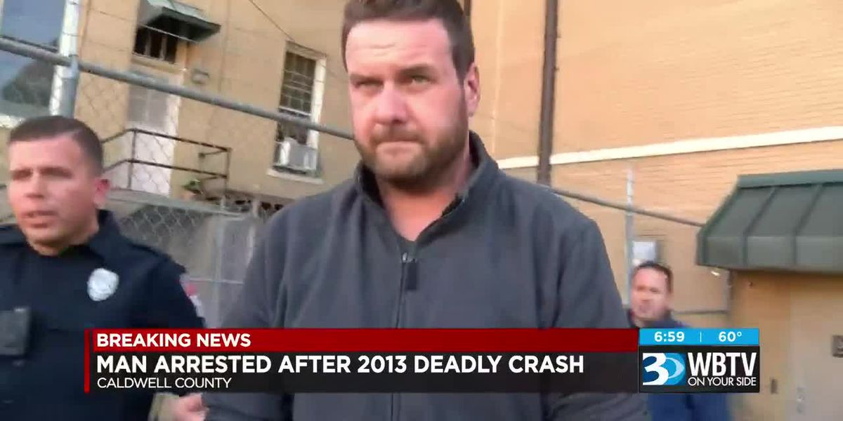 Man arrested after 2013 deadly crash