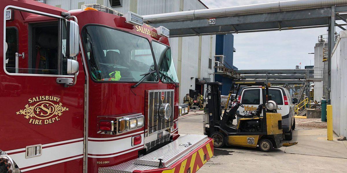 Firefighters make quick work of fire at Henkel in Salisbury