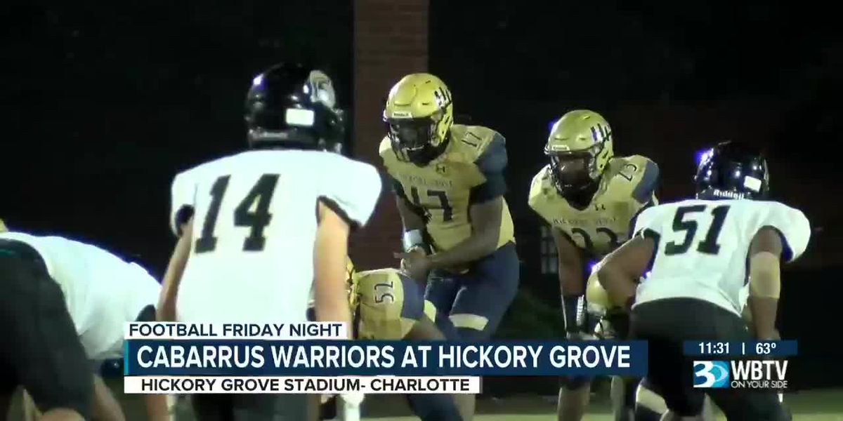 Cabarrus Warriors at Hickory Grove