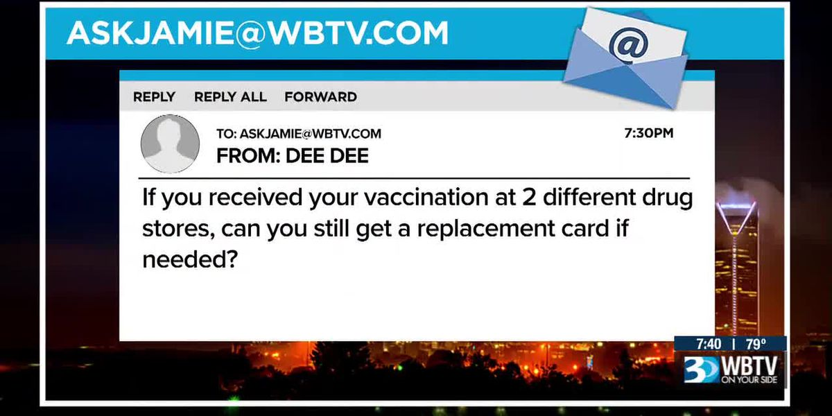 Good Question: How can I get a new vaccination card?