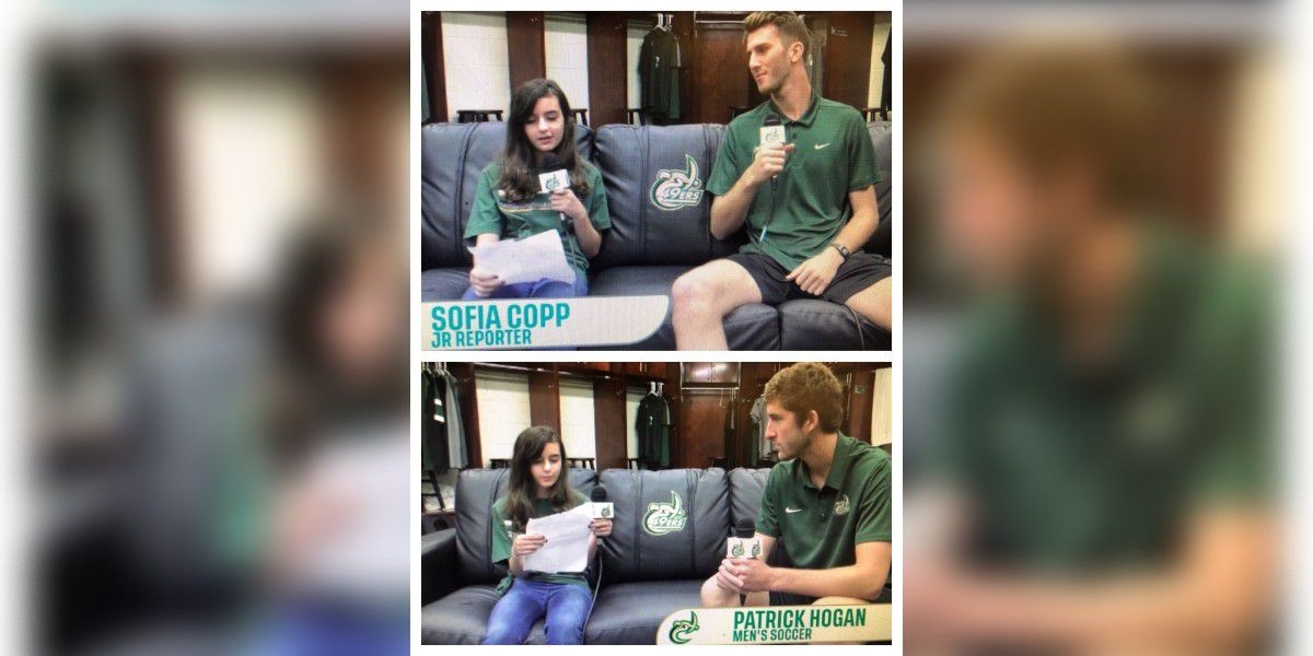 #MollysKids: Sofia Copp is now a junior reporter with the UNC-Charlotte soccer team