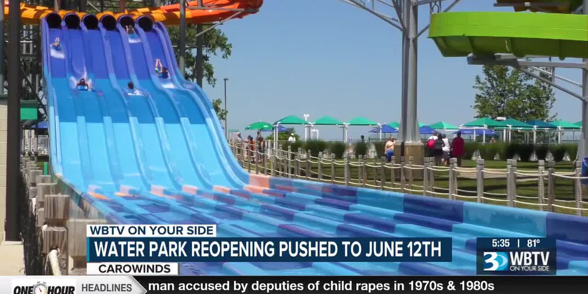 Carowinds water park reopening because of worker shortages