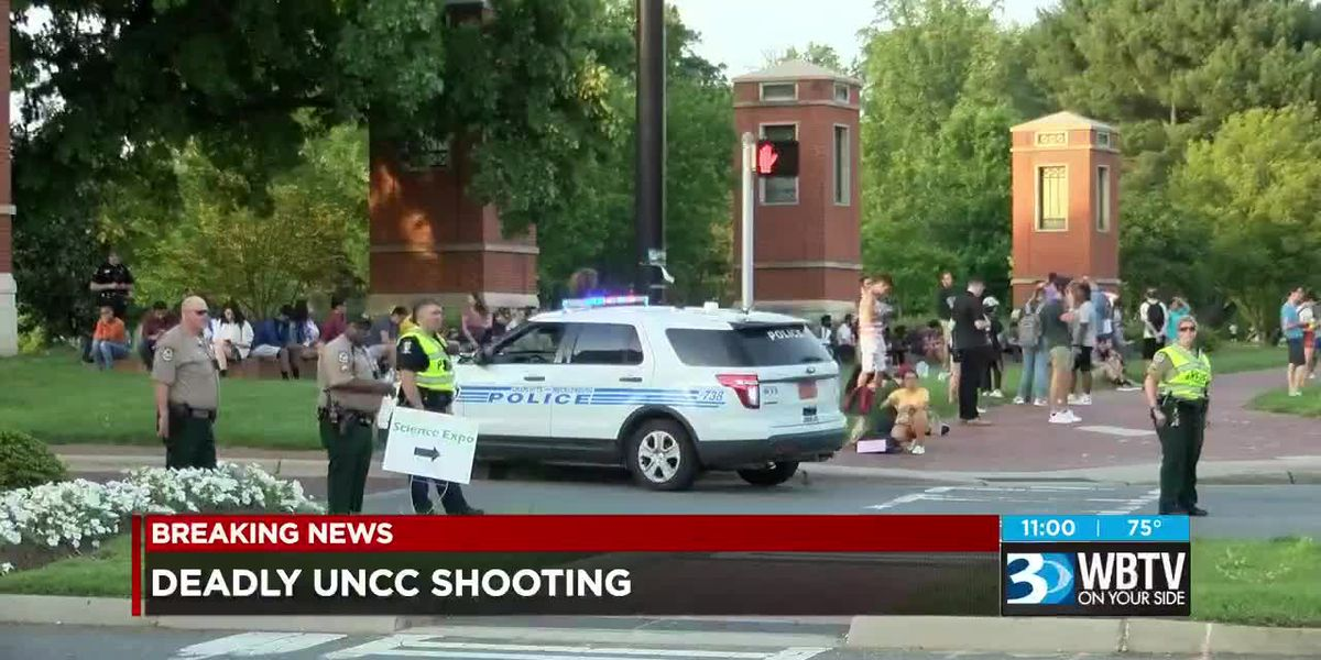 Two killed, four others injured in shooting on UNC-Charlotte campus, suspect in custody