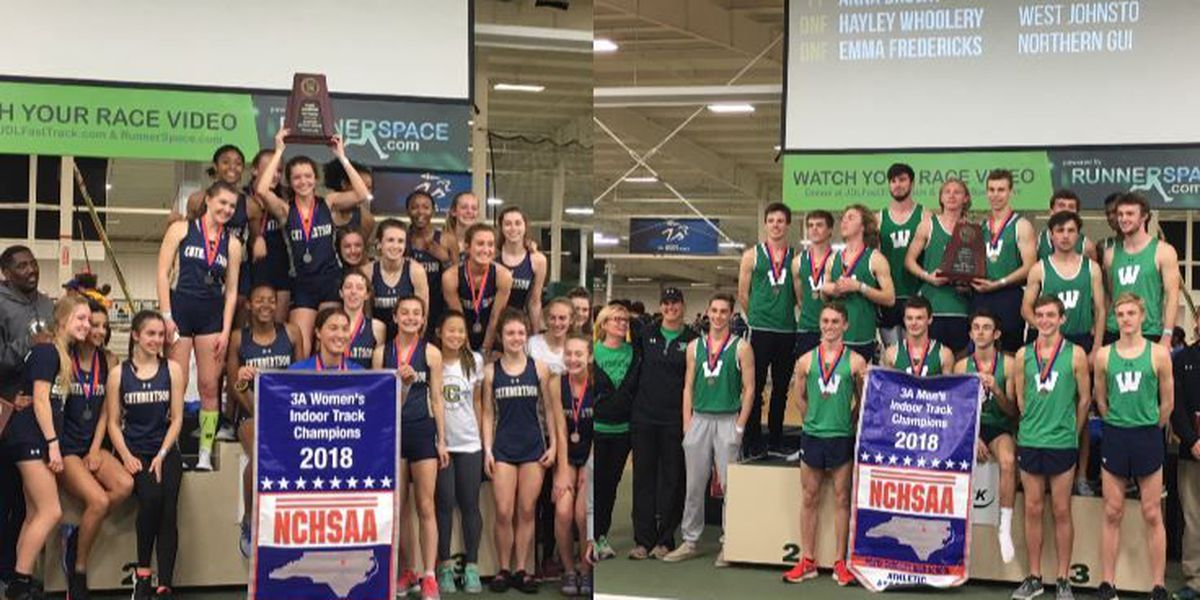 3A Indoor Track & Field Championships: Cuthbertson women earn second straight title, Weddington men capture school's second state title